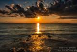 Sunset over Sand island 2