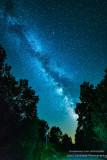 The Milky Way, down my driveway