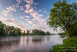 Morning sky at the Chippewa river