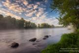 Foggy Morning at the Chippewa river