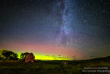 Aurora and Milky Way