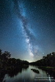 Milky Way across the Chippewa River