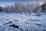 Chippewa River, at -18F