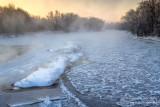Chippewa River, at -18F, 3
