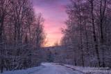 Colorful sky at dawn