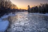 Dawn at the Chippewa river, Wisconsin