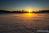 Golden sunset, Audie Lake