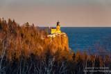Split Rock lighthouse, sunset