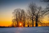 Sunrise, Blue Hills, Wisconsin