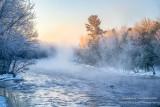 A frosty morning, Chippewa river 1
