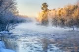 A frosty morning, Chippewa river  2
