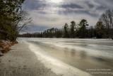 Chippewa River, ice covered