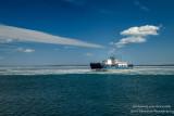 Madeline Island ferry returning to Bayfield