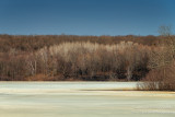 Early spring - still some ice on the lakes