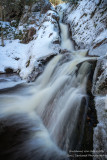 Morgan Falls with snow 1