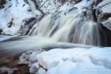 Morgan Falls with snow 3