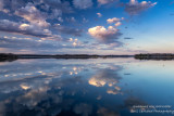 Perfect reflections, clouds