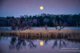 April Full Moon and reflections