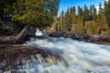 Rushing water, Gooseberry Falls