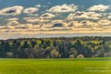 Spring landscape in the Blue Hills