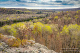 View from Juniper Rock overlook 3, mid May