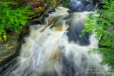 Presque Isle river, pot holes