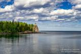 Split Rock Lighthouse, clouds