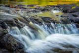 Upper Gooseberry Falls, close-up