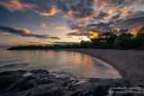 Sunset mood, north shore