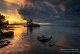 Sunrise, Tombolo, north shore 1