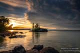 Sunrise, Tombolo, north shore 2