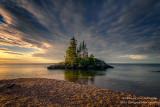 Sunrise, Tombolo, north shore 4