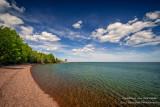 Old Fishing huts, north shore of Lake Superior
