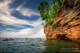 Kayak trip to the Mainland Sea Caves, Lake Superior 2