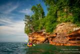 Kayak trip to the Mainland Sea Caves, Lake Superior 5