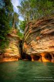 Kayak trip to the Mainland Sea Caves, Lake Superior 7