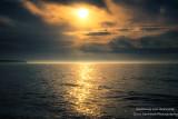 Moody Lake Superior sunset