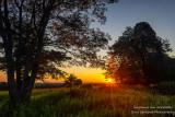 Sunrise in northern Wisconsin