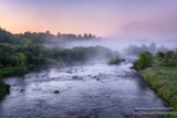 Dawn at the Couderay River, WI 1