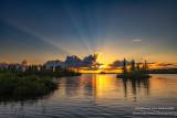 Sunset at the Chippewa Flowage, July 2020, 1
