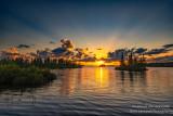 Sunset at the Chippewa Flowage, July 2020, 2