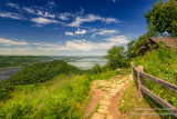 At Perrot State park, Trempealeau, Wisconsin