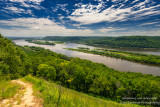 Mississippi River, view from Brady's Bluff