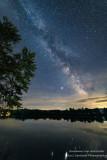 Milky Way at the Chippewa River, Wisconsin