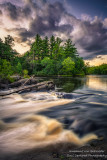 Little Falls - at the Flambeau river, Wisconsin 1