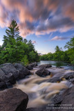 Little Falls - at the Flambeau river, Wisconsin 2