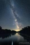 Milky Way and Jupiter, Chippewa river