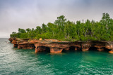 Sea caves, Devil's Island 1