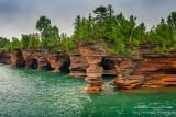 Sea caves, Devil's Island 2