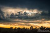 Sunset clouds, Blue Hills, Wisconsin
